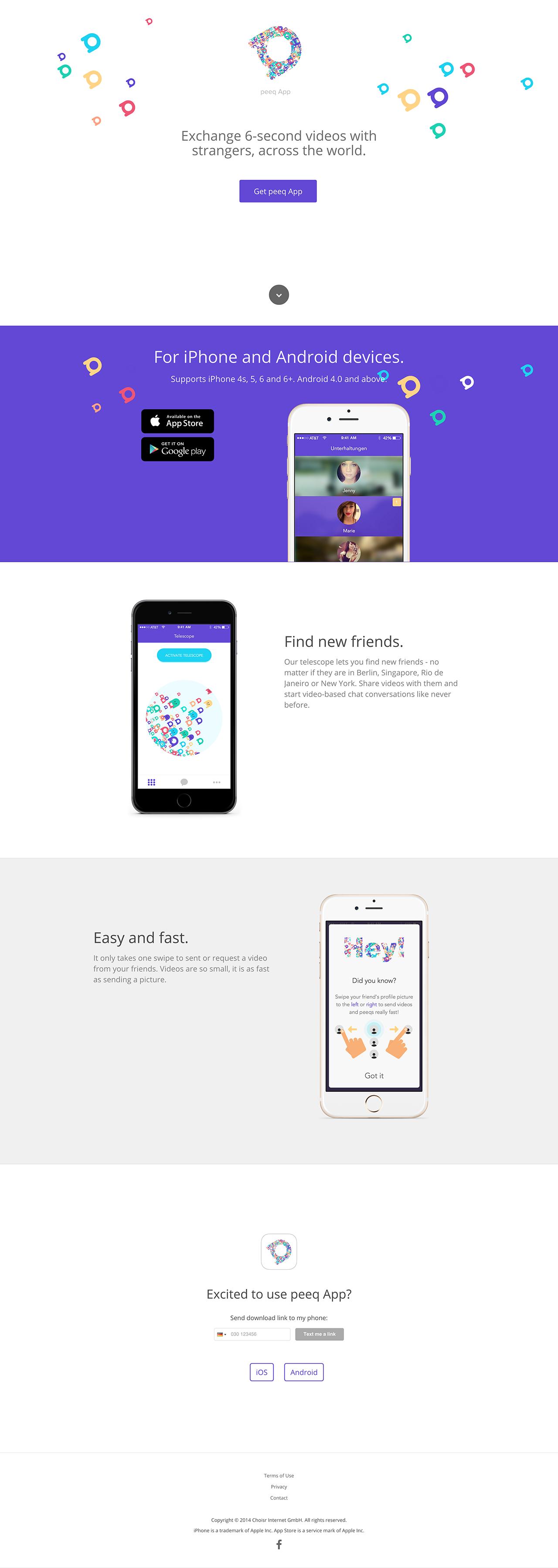 peeq App Big Screenshot