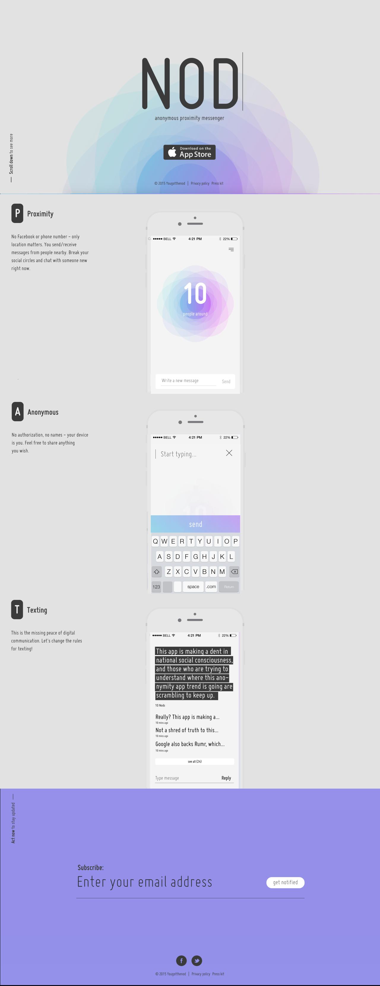 Nod Big Screenshot