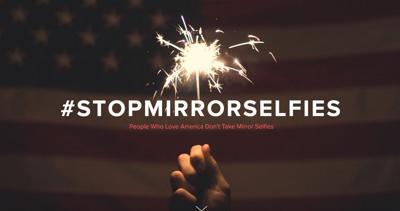 Stop Mirror Selfies