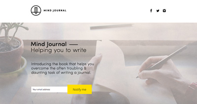 Mind Journal — Helping you to write