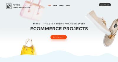 Nitro Landing Page