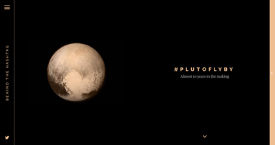 Behind The Hashtag: #PlutoFlyBy