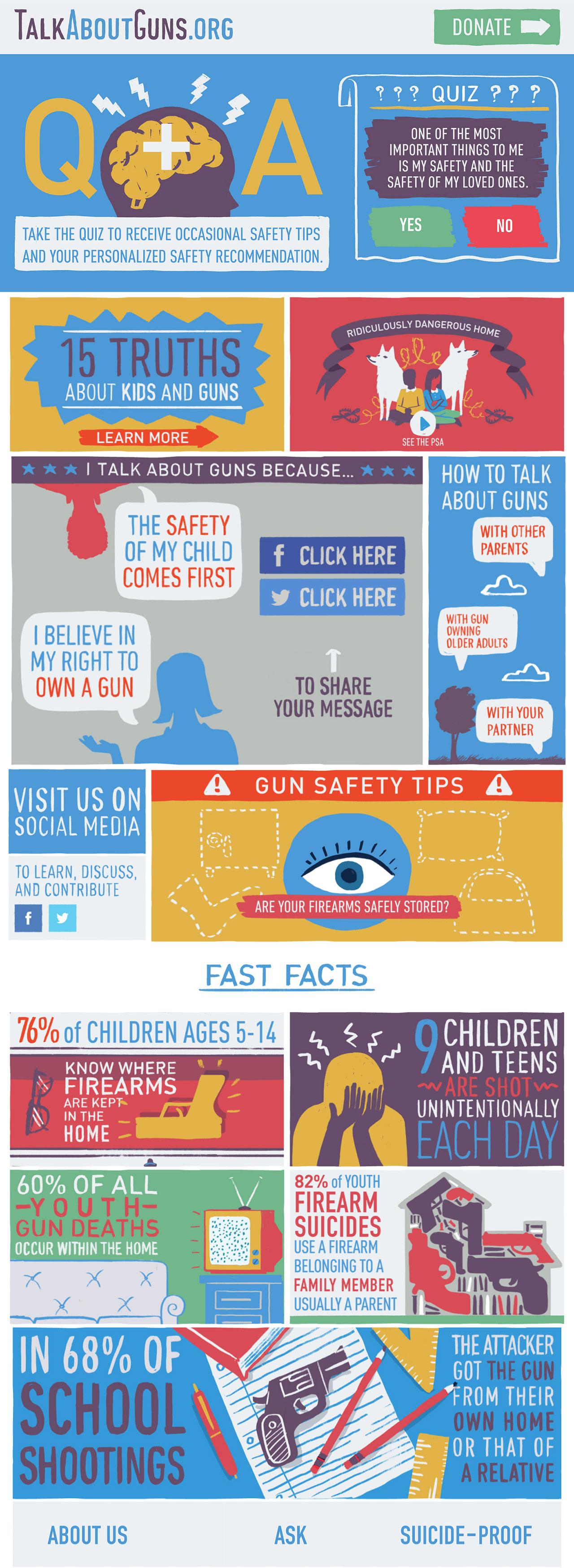 Talk About Guns Big Screenshot