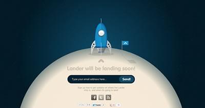 Lander App - Landing Page Platform