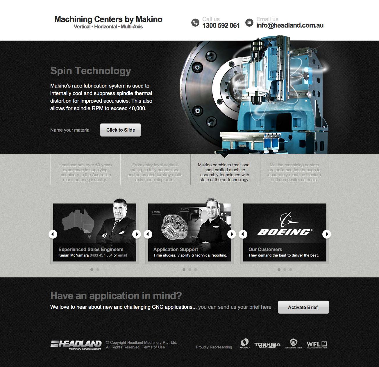 machining centers by makino