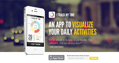 iTrackMyTime iPhone App