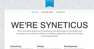 Syneticus - Boulder web design and development