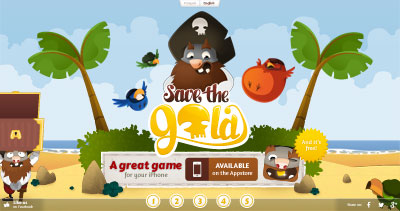 Save the Gold - iPhone