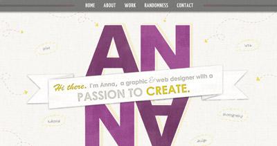 Anna Monroe - Graphic & Web Designer