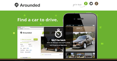 Find a car for rent - Arounded