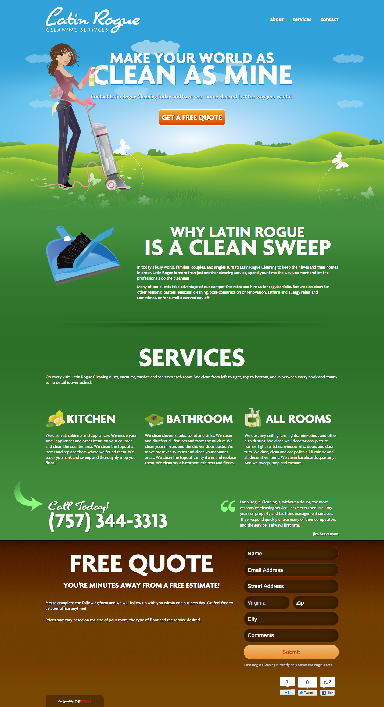 latin rogue cleaning services