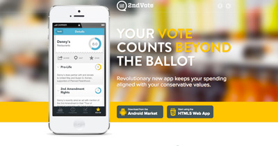 2nd Vote Shopping App