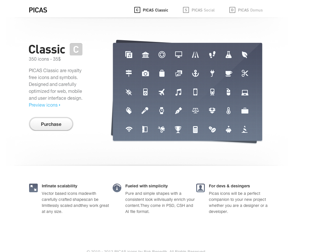 PICAS Icons Big Screenshot