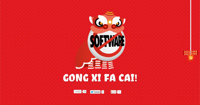 Gong Xi Fa Cai from salesforce.com