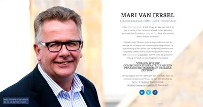 Mari van Iersel - Beschikbaar als communicatieadviseur