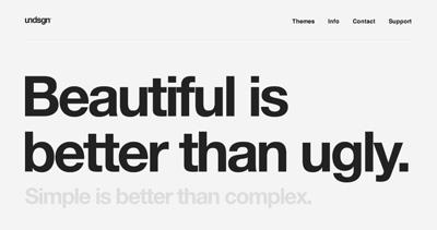 Undsgn™ - WordPress Themes & Creative Development