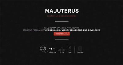 Majuterus Desain