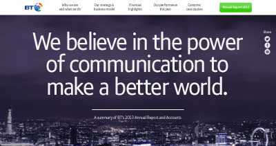 A summary of BT's 2013 Annual Report and Accounts