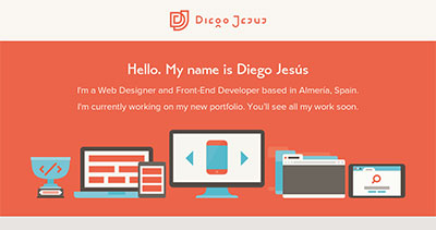 Diego Jesús | Web Designer and Front-End Developer based in Spain