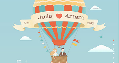 Artem and Julia are getting married