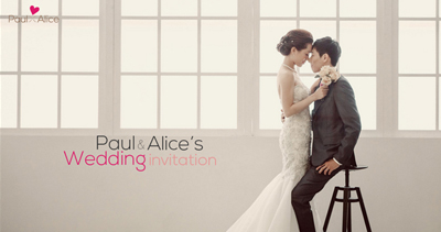 paul & alice wedding