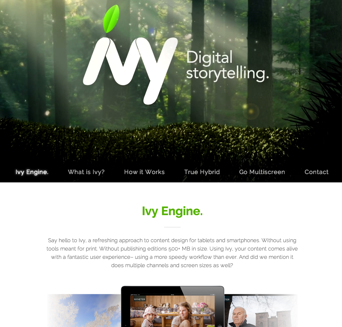 Ivy Engine Big Screenshot