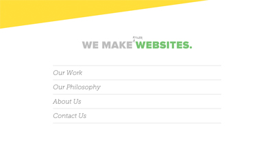 We Make Killer Websites