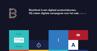 Blocklevel - Digital production agency