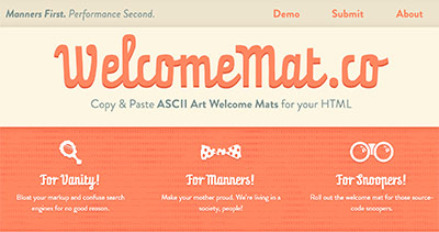 WelcomeMat.co