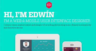 Edwin Eddie Diaz - UI Designer