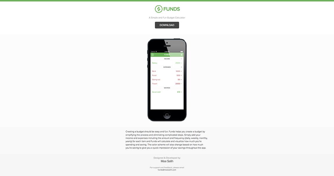 Funds Big Screenshot