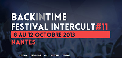 Festival Intercult 2013 - Back in Time