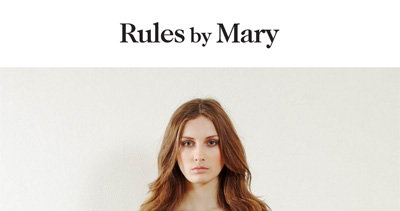 Rules by Mary