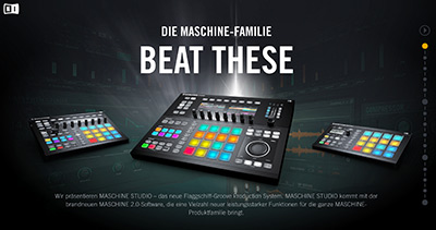 Native Instruments - BEAT THESE - THE NEW MASCHINE FAMILY