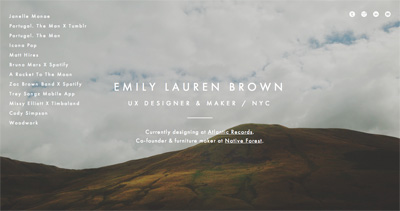 Emily Lauren Brown: UX Designer & Maker