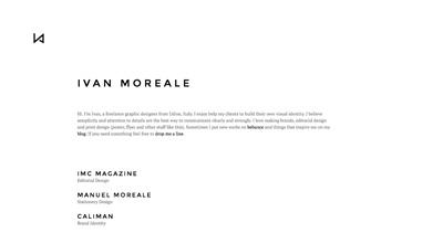 Ivan Moreale - Graphic Designer