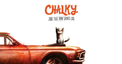 Chalky the cat