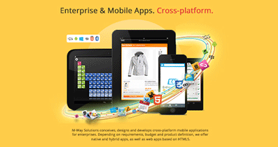 M-Way Apps – Enterprise & Mobile App development.