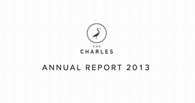 The Charles NYC Annual Report for 2013