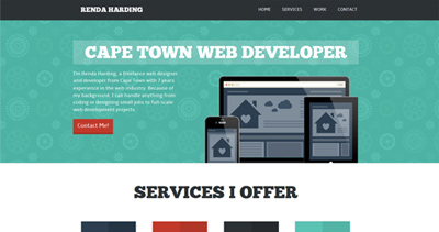 Renda Harding Web Developer Portfolio