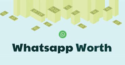 Whatsapp Worth