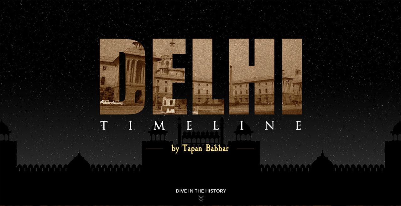 delhi timeline