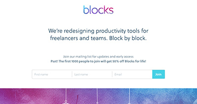 Blocks – Productivity tools for freelances and agencies