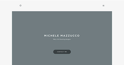 Personal website - Michele Mazzucco