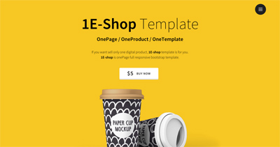 1E-shop - Single Product Shop