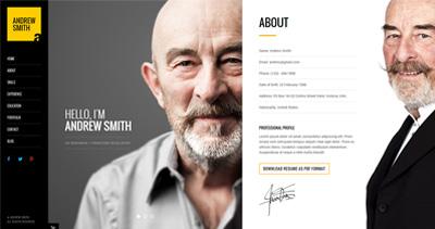 MEE - Responsive Resume / Personal Portfolio